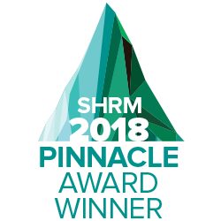 SHRM 2018 Pinnacle Award Winner