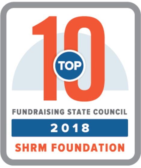 Top 10 Fundraising State Council 2018 SHRM Foundation