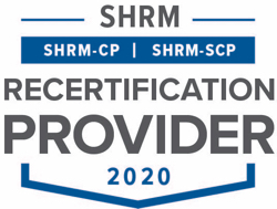 SHRM SHRM-CP -SCP Recertification Provider Seal 2020
