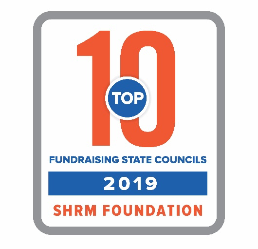 Top 10 Fundraising State Council 2019 SHRM Foundation