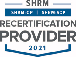 SHRM SHRM-CP -SCP Recertification Provider Seal 2021