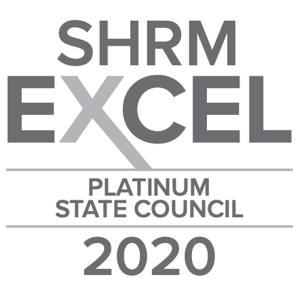 2020 SHRM EXCEL PLATINUM AWARD